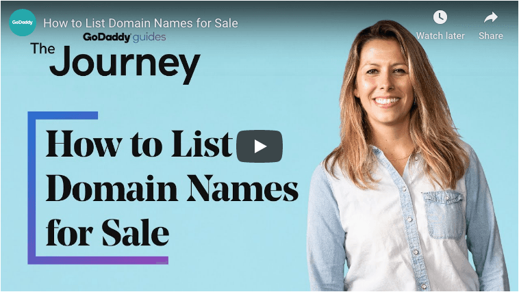 How To List A Domain Name For Sale